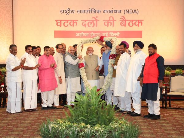 NDA leaders meeting Rajnath Singh says 36 NDA allies present in dinner