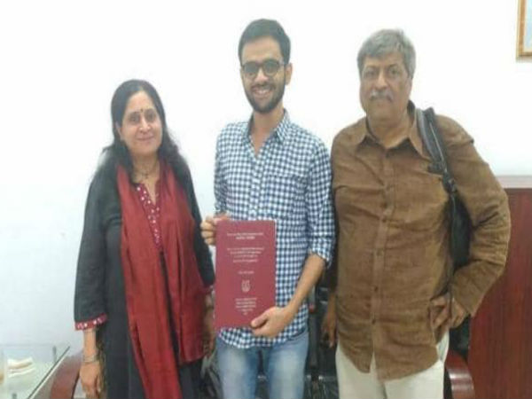 Umar Khalid completes PhD, says he has paid back taxpayers.