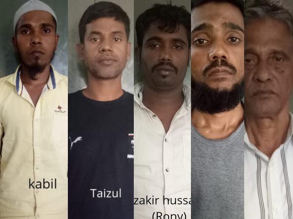 यूपी एटीएस की बड़ी कार्रवाई, केरला एक्सप्रेस ट्रेन से 6 बांग्लादेशी नागरिकों को किया गिरफ्तार
