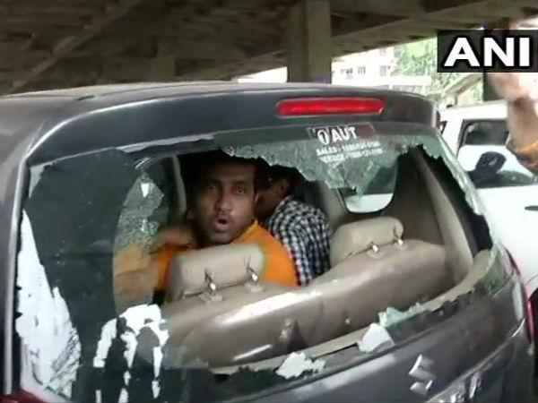 पश्चिम बंगाल में चुनाव के दौरान फिर हिंसा, गोलीबारी और  बमबारी की खबर, कई गाड़ियां फूंकी