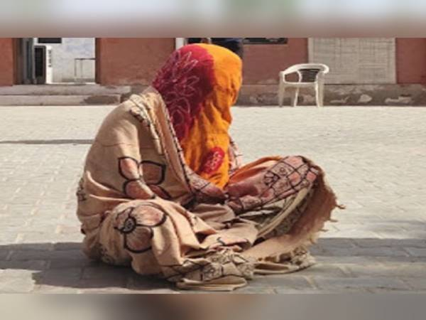 Rajasthan Woman Walks 3KM without clothes To bidasar Police Station For FIR