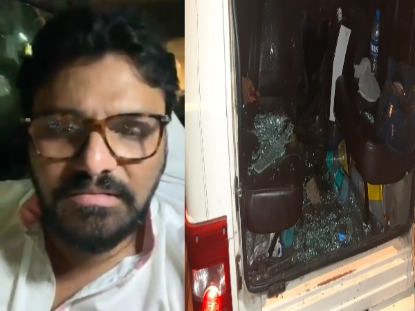 Vehicles Of bjp leader Babul Supriyos Security Personnel Attacked In west Bengal
