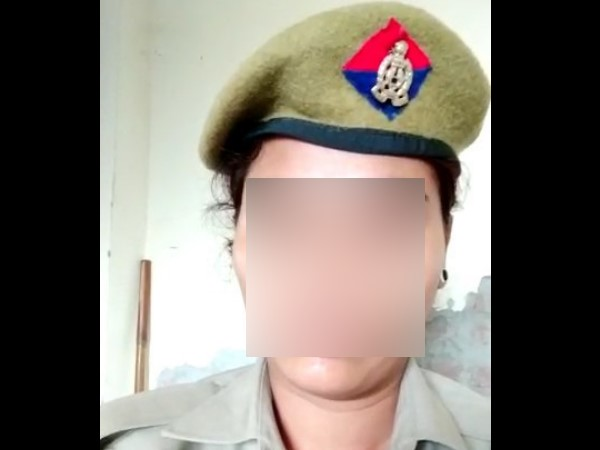 lady police harassed by senior policeman share video on social media