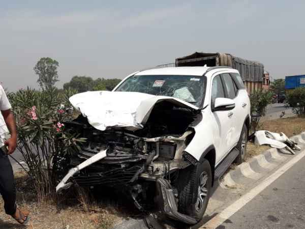 Two people die in road accident