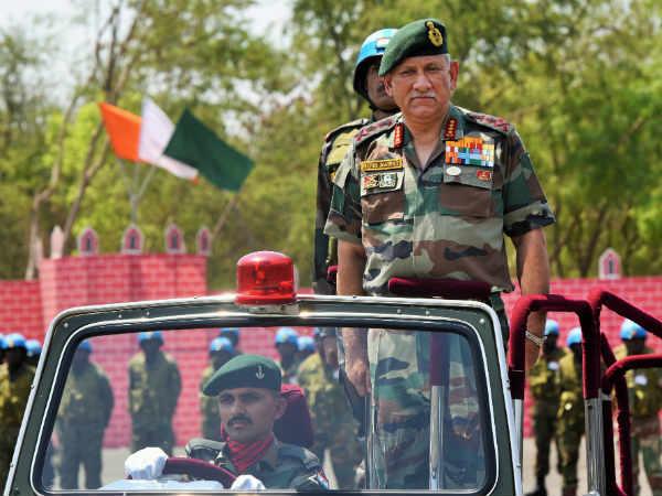 सेना प्रमुख जनरल बिपिन रावत ने भी कहा, कुछ रडार बादलों के आर-पार नहीं देख सकतीं