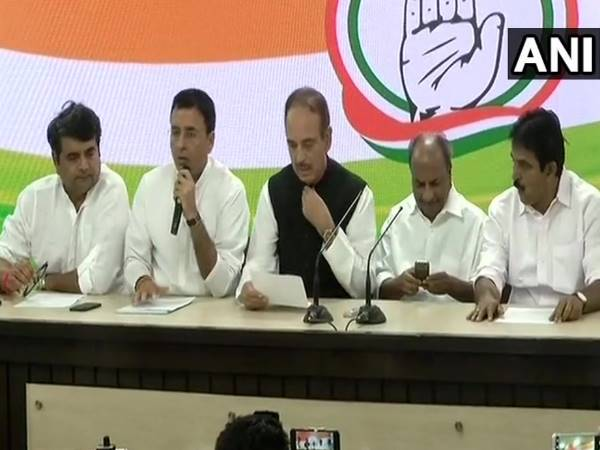 Congress Party President Rahul Gandhi offered resignation but rejected by the members of CWC: Randeep Singh Surjewala