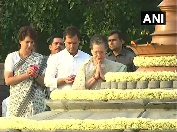 पूर्व पीएम राजीव गांधी की 28वीं पुण्यतिथि, सोनिया-राहुल ने वीर भूमि जाकर दी श्रद्धांजलि