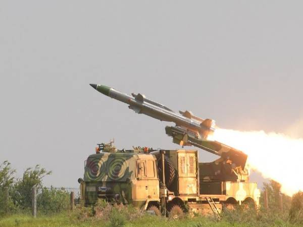DRDO successfully test fired the Akash-1S surface to air defence missile system