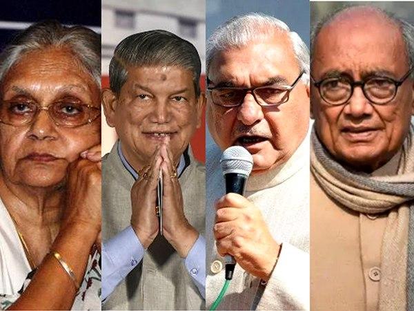 मोदी की 'सुनामी' में डूबी कांग्रेस के 9 पूर्व मुख्यमंत्रियों की नैय्या