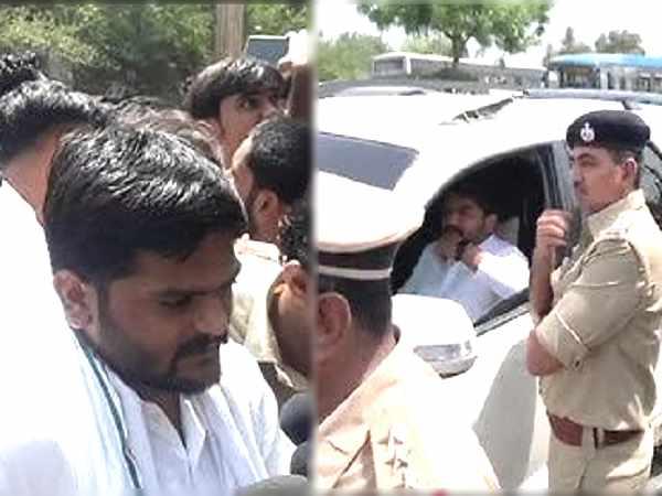 सूरत अग्निकांड में 23 जिंदगियां खत्म होने के बाद धरना करने पहुंच गए हार्दिक पटेल, पुलिस ने पकड़ा