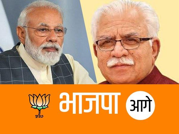 lok sabha elections Results 2019: BJP is leading on all 10 seats of haryana