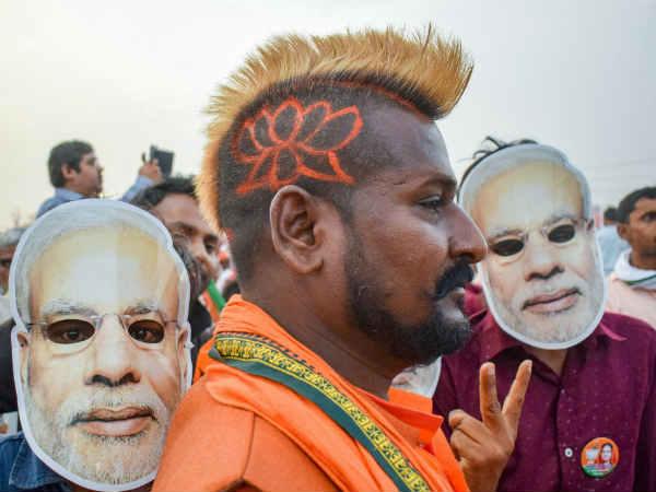 Election results 2019: शुरुआती रूझानों में बीजेपी और एनडीए को 100 सीटों की बढ़त