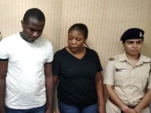 Madhya pradesh police arrested nigerian couple from delhi for online fraud
