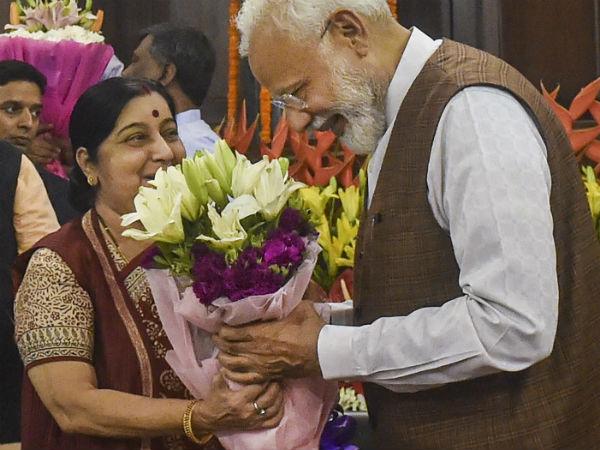 यह पढ़ें: शपथ ग्रहण के बाद सुषमा स्वराज ने किया इमोशनल Tweet, पीएम मोदी को बोला Thank You