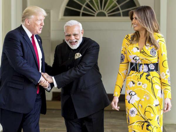 अमेरिकी राष्ट्रपति डोनाल्ड ट्रंप ने किया प्रधानमंत्री मोदी को फोन, पीएम चुने जाने पर भारत को बताया भाग्यशाली