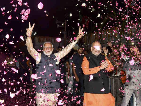इन राज्यों में मोदी लहर फेल, 2014 से घटकर 2019 में BJP की सीटें हुईं जीरो