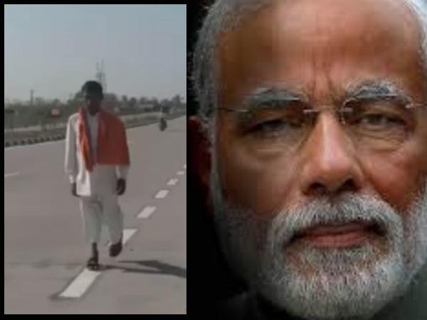 पीएम नरेन्द्र मोदी की वापसी पर राजस्थान का दिव्यांग दे रहा 'अग्नि परीक्षा'