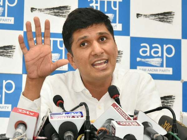 AAP Leader Saurabh Bharadwaj raise question on election commission, said decision lead civil war
