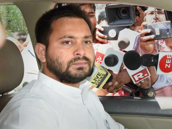 RJD नेता तेजस्वी यादव ने क्यों नहीं डाला वोट? BJP-JDU ने ये बताया