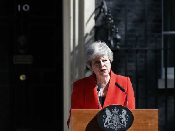 UK की पीएम थेरेसा मे ने दिया इस्तीफा, मानी Brexit पर असफलता