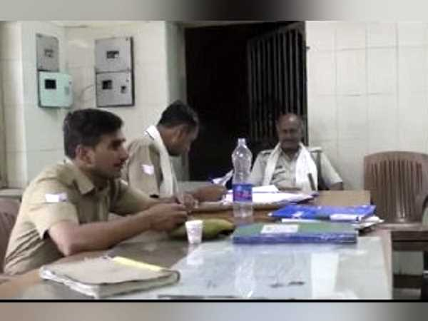 UP police Three cop suspended in bribe case Lucknow hotel