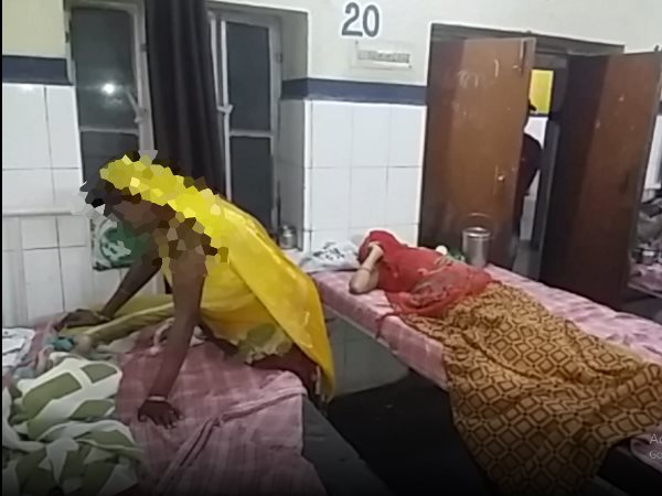 Woman gave birth After 2 month of marriage in Bari Hospital Dholpur