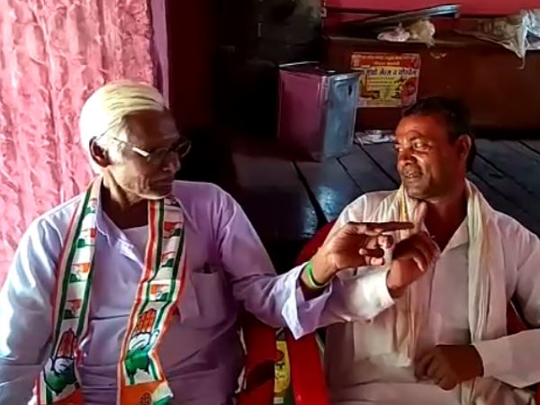 congress worker bapulal cuts hair after rahul gandhi defeat in Lok sabha lection