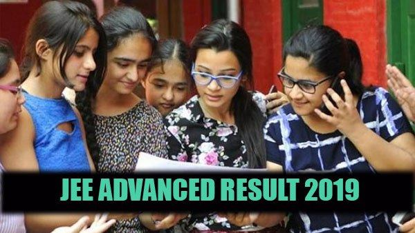 JEE Advanced Result 2019: Result of iit jee advanced released, check now