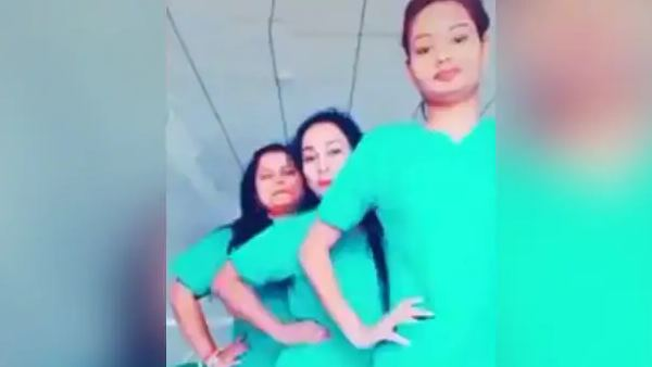 Odisha nurses received show cause notice for making tik tok video in hospital