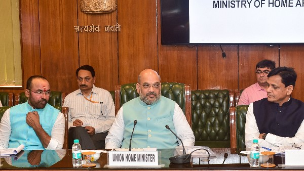 Home Minister Amit Shah was holding a meeting Finance Minister and Petroleum Minister