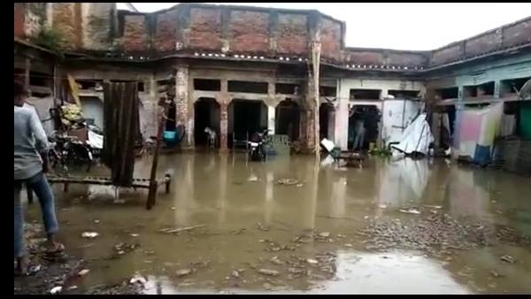 Water entered in house after first rain of monsoon