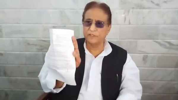 Azam Khan angry after meeting stopped by police