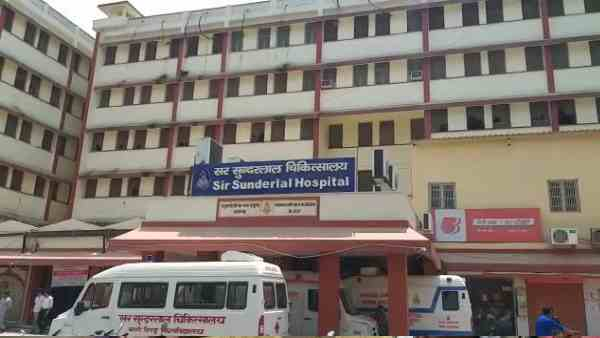 BHU hospital doctors on strike after kolkata incident