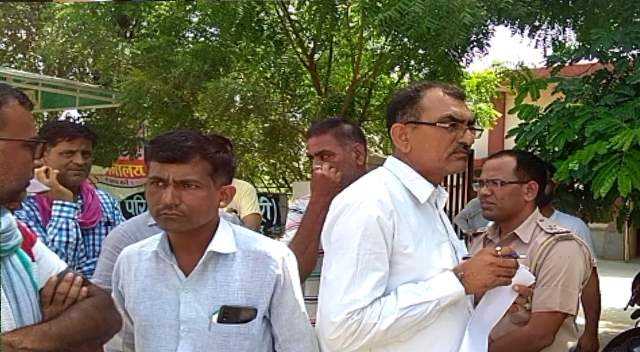 Father In law in Murder By Son In Law at BiKaner Rajasthan