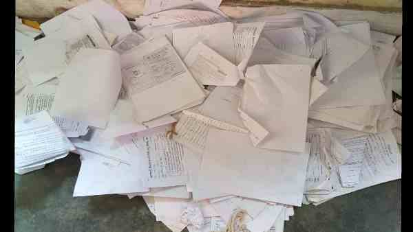 thousands of PM kisan samman yojna cards founds as garbage