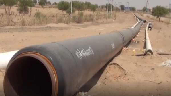 crude oil heating pipeline fired in Barmer rajasthan