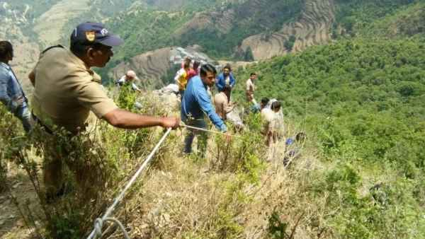 People killed in Mussoorie road accident