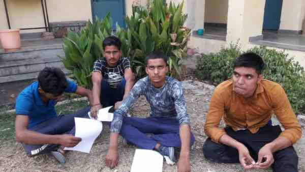 four fraud boys arrested in army recruitment