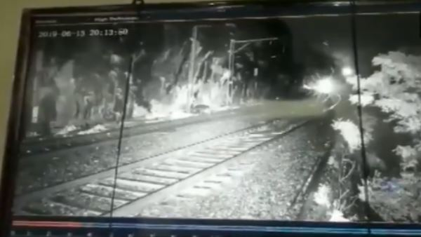 Train accident averted with the help of CCTV cameras in hilly section Mumbai