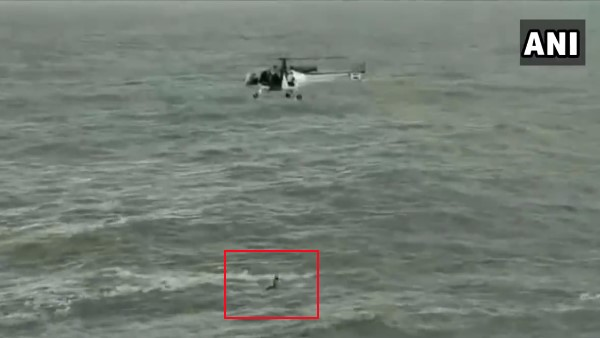 Indian Coast Guard rescued a man from drowning, 2 nautical miles North of Cabo de Rama beach, Goa