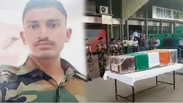 Gujarat: 22-year-old Bhavesh dhirubhai rathod Martyr in Jammu-kashmir