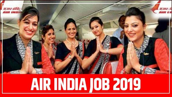 vacancy on different post in air india, apply now