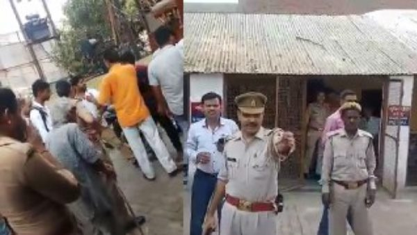Son of BJP MLA threatened police station incharge