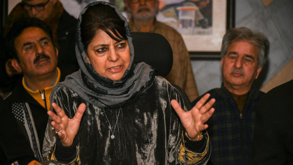 Pakistan a stakeholder in Kashmir problem, involve it too:Mehbooba Mufti