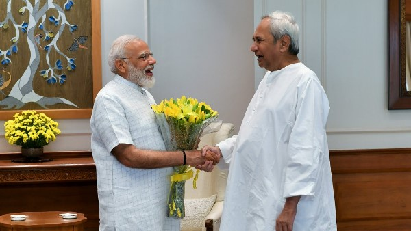 Odisha cm Naveen Patnaik Tuesday meets pm Modi, requested to award Odisha special category status
