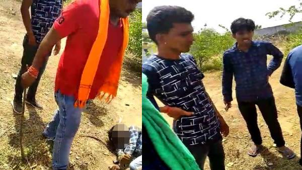 Pali Dalit youth beaten for entering a temple and Video goes viral in Rajasthan