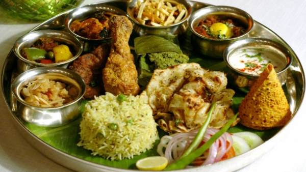 maharashtra chicken pieces found vegetarian canteen diet in legislative building