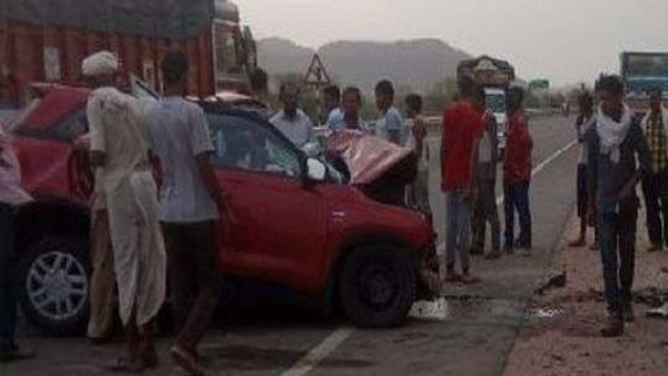 Sikar Two Brother Killed in Road accident on Shahpura Manoharpura Highway