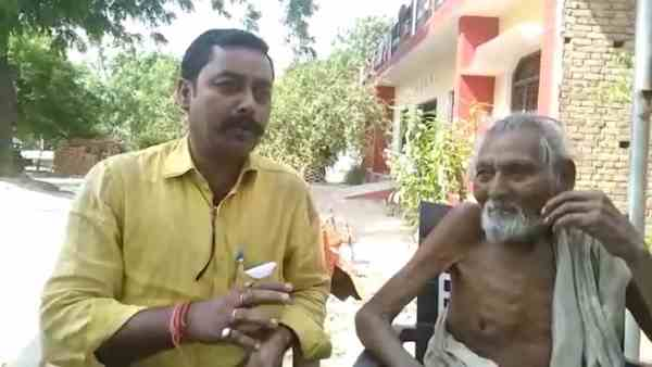Bizzare! This 100 year old monk eats stones and mud to live
