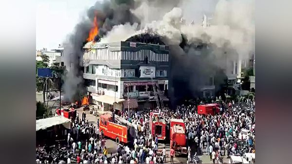 Surat fire tragedy: The parents of 22 students demands action against accused